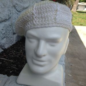 Other - Beret Hand Crocheted Hat